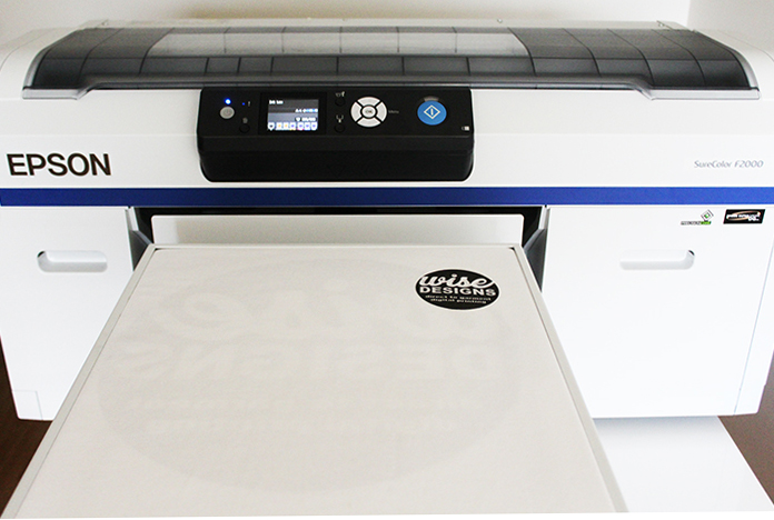 Epson Surecolor SC2000 Direct to Garment Printer with Wise Designs T Shirt